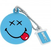 Memorie USB Emtec Smiley World Happy Days 8GB USB 2.0 Blue