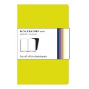 Moleskine Volant pocket plain notebook, green