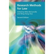 Research Methods for Law by Professor in the Department of Applied Social Sciences Wing Hong Chui