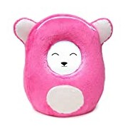 Ubooly Jumbo 7-inch Interactive Learning Plush Toy for Mini-Tablets including Kindle Fire HD and iPad Mini (Pink)
