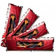 G.Skill Memoria 32B PC 2400 CL15 4x8GB KIT 1.2v Kit RED, F4-2400C15Q-32GRR (1.2v Kit RED)