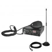 Kit Statie radio CB PNI ESCORT HP 8000L ASQ + Antena CB PNI Extra 40 cu magnet PNI-PACK28 (PNI)