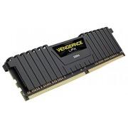 Corsair CMK8GX4M1A2400C14 Vengeance LPX Memoria per Desktop a Elevate Prestazioni da 8 GB (1x8 GB), DDR4, 2400 MHz, CL14, con Supporto XMP 2.0, Nero