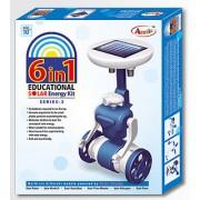Annie 6 In 1 Series -2 Solar Energy Educational Kit (Multicolor)