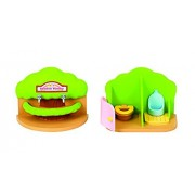 Las familias de Sylvania Nursery baño Set (Multi-Color)