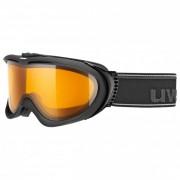 Uvex - Comanche Lasergold Lite S1 - Skibrille schwarz/orange