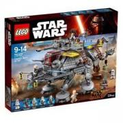 Конструктор ЛЕГО СТАР УОРС - AT-TE на Капитан Рекс, LEGO Star Wars, 75157