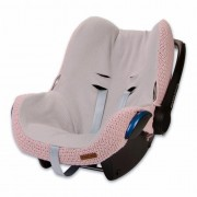 Baby's Only hoes autostoel Maxi Cosi stoer korrel Oud Roze