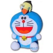 "Doraemon Movie - Nobita and the Island of Miracles: Animal Adenture Plush - 17"" Doraemon with Bird by Unknown"