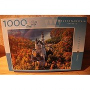 Neuschwanstein Castle: A 1000 piece jigsaw from King