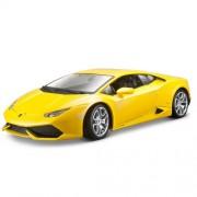 Bburago - 2043127 - Véhicule Miniature - Modèle À L'échelle - Lamborghini Huracan Lp 610-4 - Jaune - Echelle 1/18