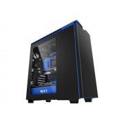 NZXT H440 - Tour midi - ATX - pas d'alimentation - bleu, noir mat - USB/Audio