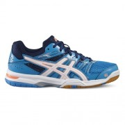 asics Damen-Volleyballschuh GEL-ROCKET 7 W - blue jewel/white/flash co