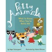 Potty Animals by Hope Vestergaard