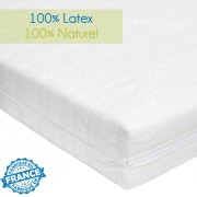 Matelas latex 100% naturel 80x200 - Novopur