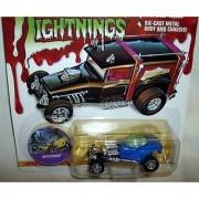 Johnny LIghtning Frightning Lightnings Mysterion Blue