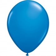 Balon Latex Dark Blue, 24 inch (61 cm), Qualatex 14889, set 5 buc