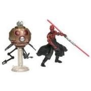 Star Wars Deluxe Figure Darth Maul with Sith Attack Droid (japan import)