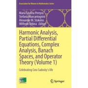 Harmonic Analysis, Partial Differential Equations, Complex Analysis, Banach Spaces, and Operator Theory (Volume 1): Celebrating Cora Sadosky's Life