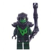 Lego Ninjago Minifigure Lloyd Ghost Evil Possessed With Black Staff Weapon (70736)