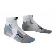 X-Socks Marathon Hardloopsokken blauw/wit 37/38 2017 Sokken