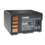 Batterie LI-ION compatible pour JVC GC-PX10, GC-PX10EU, GC-PX100, GC-PX100BEU, GS-TD1, GS-TD1EU remplace BN-VF823 / BN-VF823U