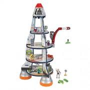 KidKraft 63443 - Set con Razzo Spaziale, Multicolore