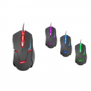 Mouse Tracer Optical Gaming Battle Heroes Kintaro Black