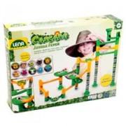 Set De Joaca Labirint De Bile 41 Piese Si 10 Bile Jungle Adventure
