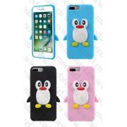 Аpple iPhone 7 Plus (силиконов калъф) 'Penguin'