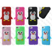 Аpple iPhone 7 (силиконов калъф) 'Penguine style'