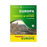 Europa. Atlas turistic si rutier.