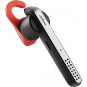 Jabra Stealth - Bluetooth headset, kan paras via NFC, röststyrning, silver/svart