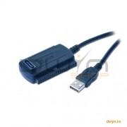CABLU CONVERTOR USB LA IDE (2.5''/3.5'') and SATA 'AUSI01'
