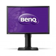 Monitor BenQ BL2411PT, 24'', LED, IPS, 1920x1200, 20M:1, 5ms, 300cd, D-SUB, DVI, DP, repro, pivot