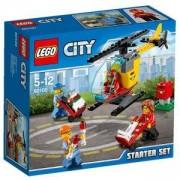 Конструктор ЛЕГО - Начален комплект, LEGO City, 60100