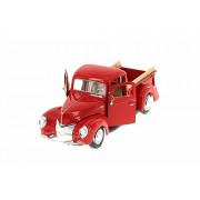 1940 Ford Pick Up Truck, Red Showcasts 73234 1/24 Scale Diecast Model Toy Car