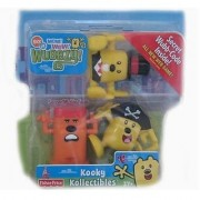 Wow Wow Wubbzy Kooky Kollectibles with Captain Wubbzy Sir Wubbzy & Krazy Kooky Figures
