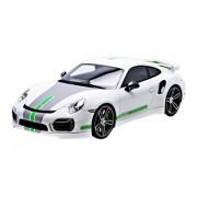 Modellino Auto PORSCHE 911 TECHART 991 TURBO S 1:18 (GT Spirit GT 801)