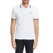 Polo Fred Perry Twin Tipped Raye Multicolore Homme