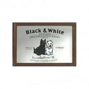 Barspegel Black and White 22x32