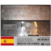 Clavier Qwerty Espagnol / Spanish Pour ACER Aspire AS5943 5943G AS8943 8943G Series, Gris Clair / Silver, Model: MP-09N66E06698, P/N: PK130C31017, KB.I170A.194