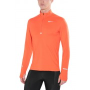 Nike Dri-FIT Element Half-Zip LS Shirt Men Turf Orange/Reflective Silver Laufshirts