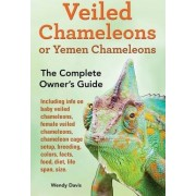 Veiled Chameleons or Yemen Chameleons as Pets. Info on Baby Veiled Chameleons, Female Veiled Chameleons, Chameleon Cage Setup, Breeding, Colors, Facts, Food, Diet, Life Span, Size. by Wendy Davis