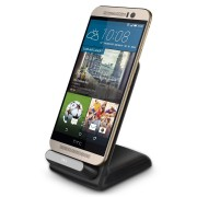 Qi Wireless Charger Dock & Charging Stand (3-Coils) for HTC One M9