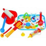 Gowi Toys 17 pc Kitchen Toy Baking Set