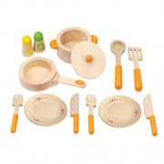 Hape-Wooden Gourmeet Kitchen Starters Set