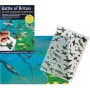 Battle of Britain - Rub Down Transfers - World War 2 air combat scene