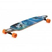 """Longboard Spartan DROP SHAPE """"Surfer Blue"""""""