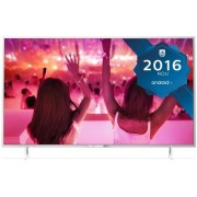 "Televizor LED Philips 80 cm (32"") 32PFS5501/12, Smart TV, Full HD, Android TV, WiFi, CI+ + Lantisor placat cu aur si pandantiv in forma de inel gravat"